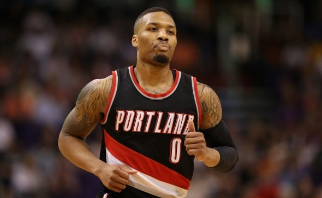 Total Pro Sports Damian Lillard Compares Response To