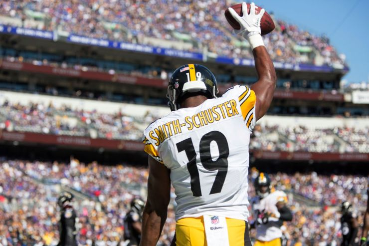 JuJu Smith-Schuster week 5 rookie review