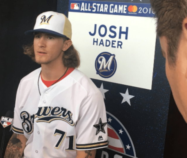 Coming Into The All Star Game Josh Hader Had Struck Out   Of The Batters Hed Faced This Year He Was Basically Money When He Was On The Bound
