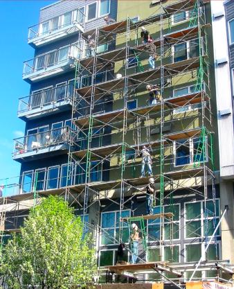 Concrete restoration - Total Restoration Services