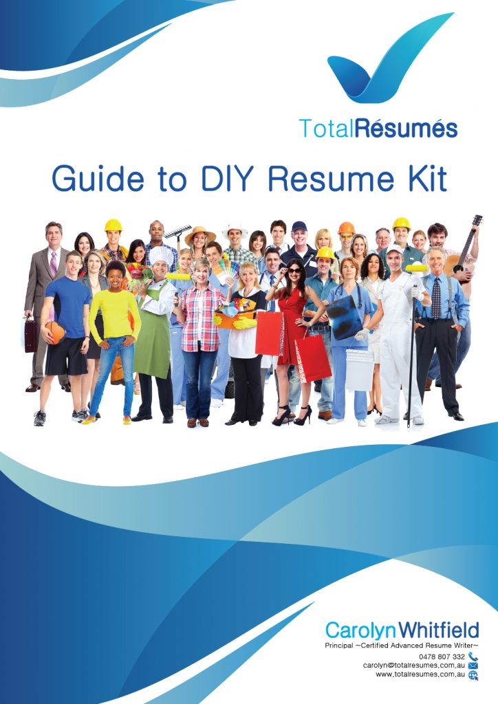 Do It Yourself Resume Kit Step By Step Guide 2 Templates