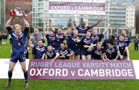 Oxford Dark Blues won their fifth consecutive Varsity match. ©VarsityRL