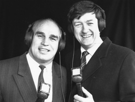Eddie and Stevo in the early days.