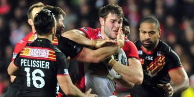 I injured my groin against the Catalan Dragons and have missed two games so far.