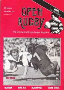 #20 Sept 1979 - First 'glossy' cover