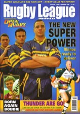 #216 Mar 1999 - First issue published as 'Rugby League World'
