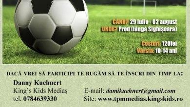 Photo of Tabăra de fotbal pentru copii – 2013