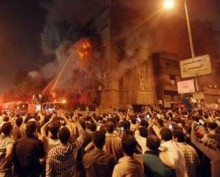 Libia: Islamistii atacand biserica