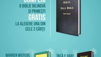 Photo of Ofertă de reducere la Societatea Biblică din România