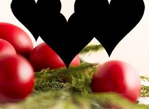 Photo of Ouă roşii, cu inimi negre