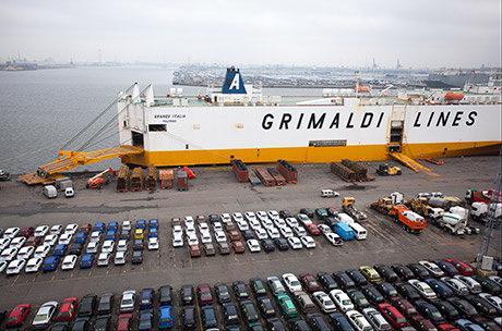 Grimaldi Schedule - Total Shipping