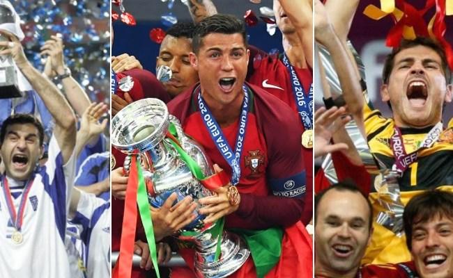 Uefa Euro Winners 1960 2021 Italy Champions 2021 - Open ...