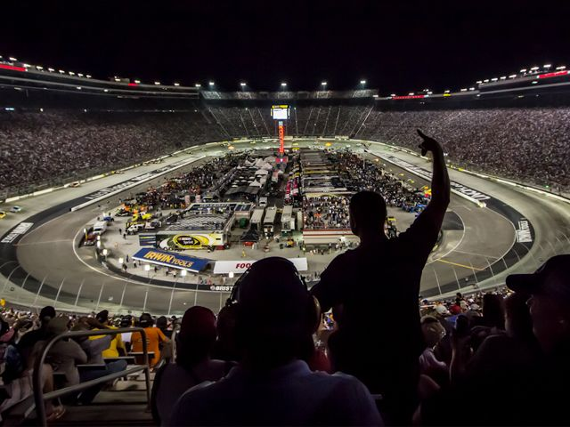Virginia Tech Tennessee To Play At Bristol Motor Speedway