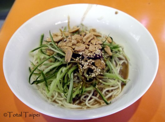 川醬拌麵 - Sichuan noodles with peanuts