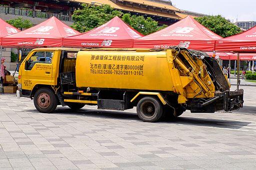taipei garbage truck