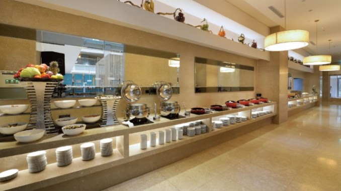 century hotel buffet