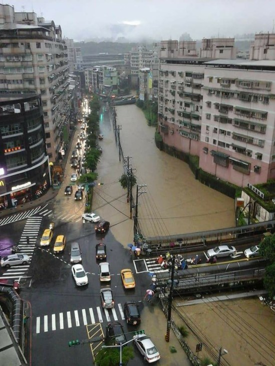 flooding keelung