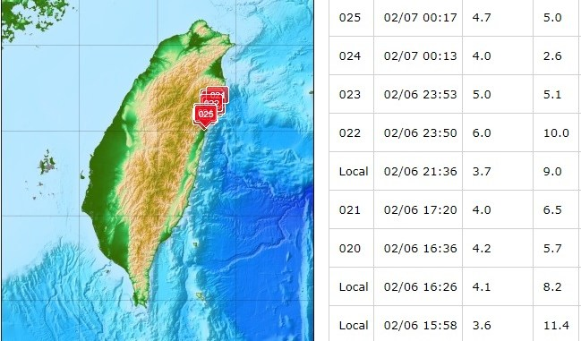 hualien earthquake