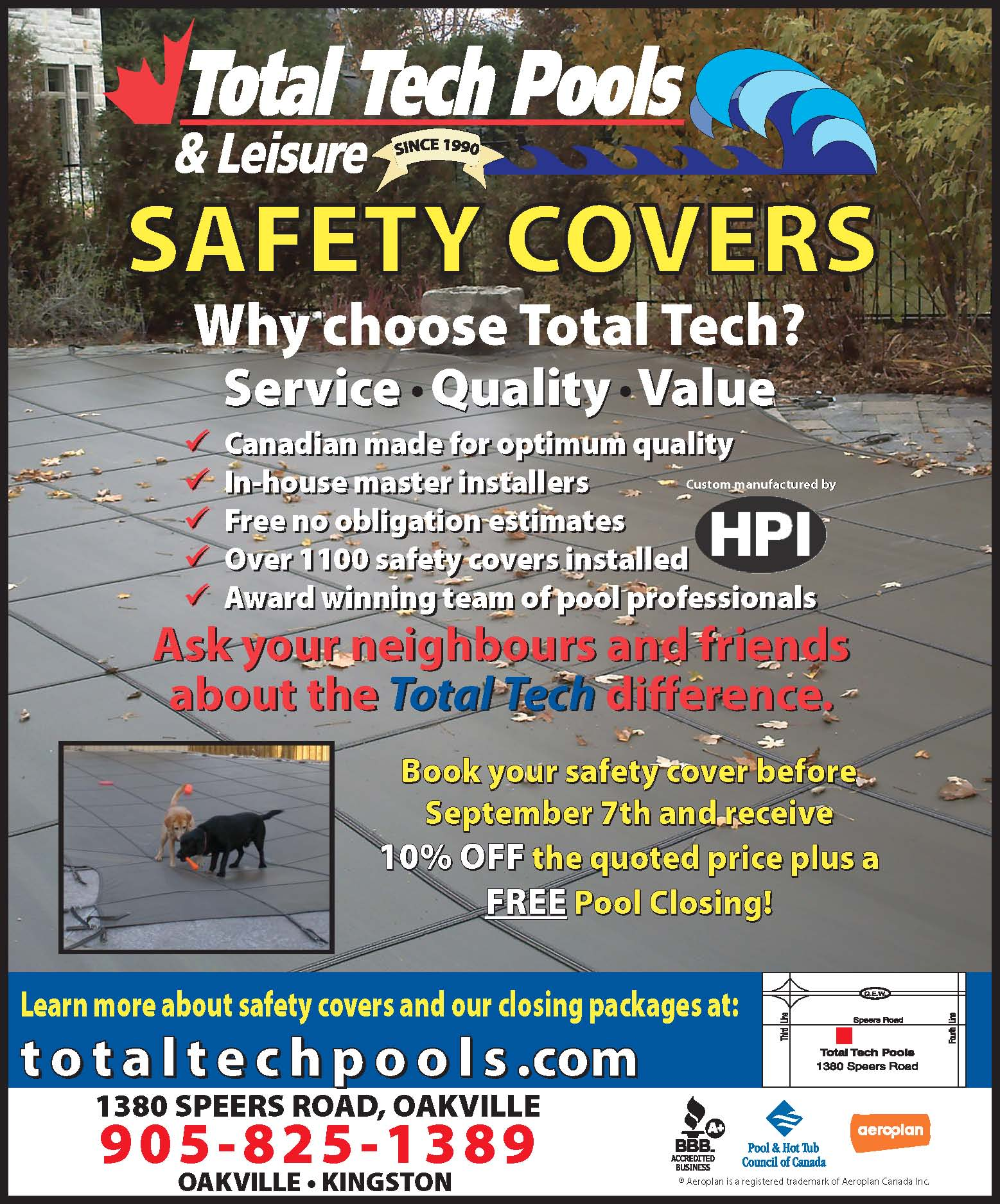 Pool Safety Cover Sale  Book Before Sept 7