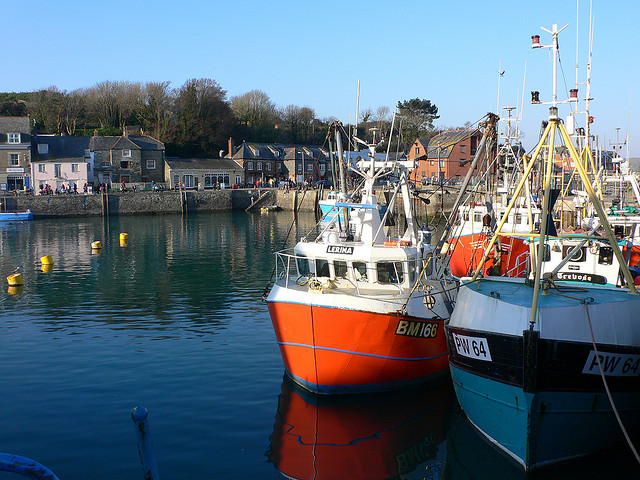 Padstow - where the trail begins