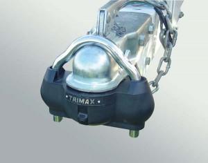 TRIMAX (UMAX100): Premium Universal Solid Hardened Steel Trailer Lock