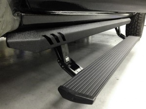 AMP (77154-01A): PowerStep XL for 2014-15 Silverado/Sierra Crew Cab