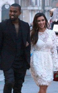 Kanye And Kim Put Baby On Diet Of Food From Other's Plates