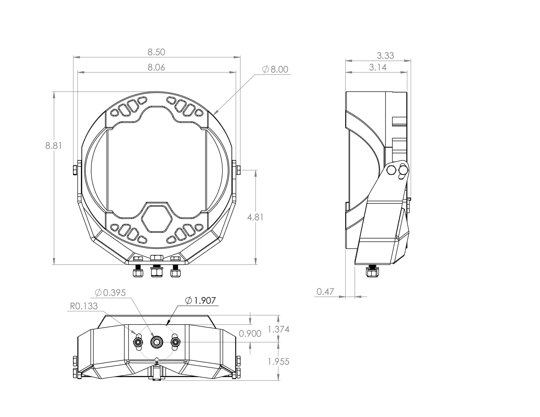 Baja Designs® LP9 Sport™ LED Driving/Combo Light 350003