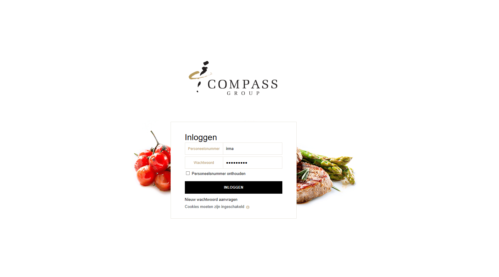 Compass Group trains its international catering team with