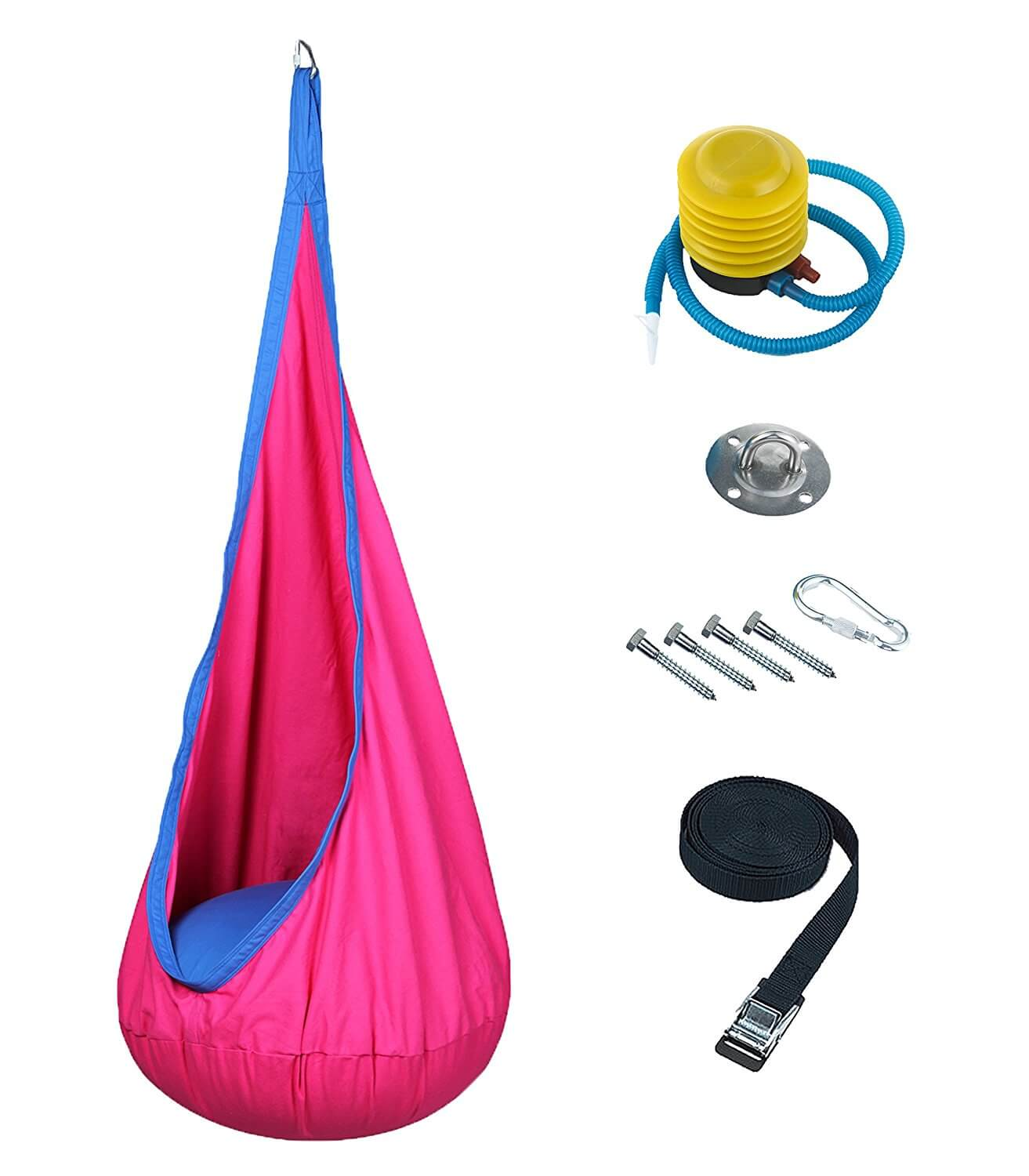 hanging kids chair ikea covers ektorp best swing chairs for 2018 buyer s guide and reviews includes hardware great as a sensory or therapy autism