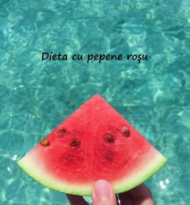 dieta cu pepene roÈ™u