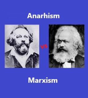 diferenta dintre anarhism si marxism