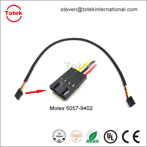 small resolution of molex 5057 9402 automotive custom cable assembly wire harness jpg