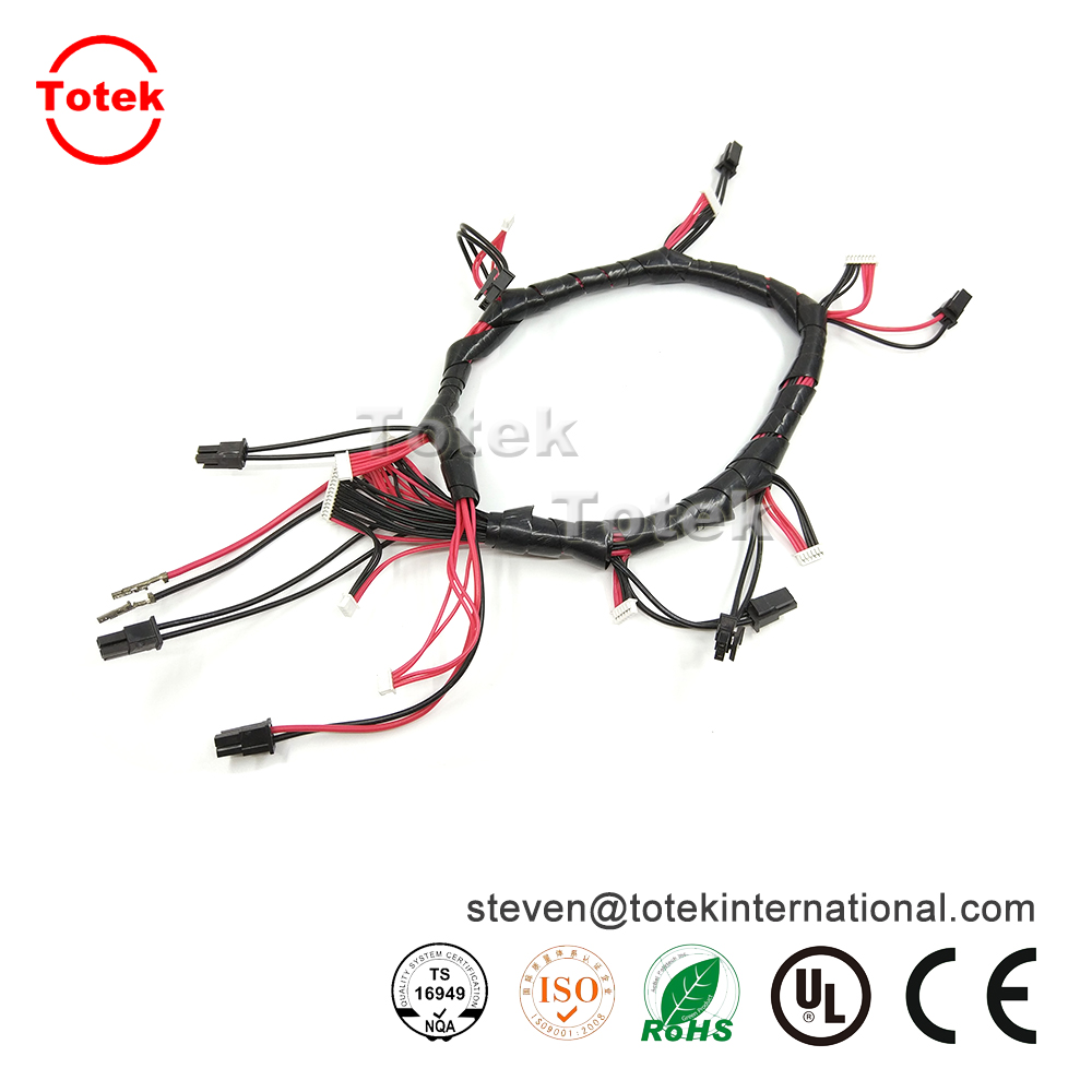 Twisted wire harness with Molex 2510 connector-Totek