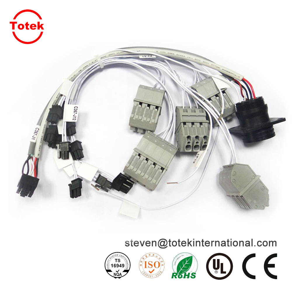 medium resolution of automotive wire harness and cable assembly with amp molex and jae connectors