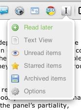 Instapaper Extensión Chrome