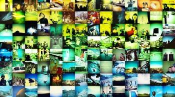 Mural de fotos: Pinterest en el aula