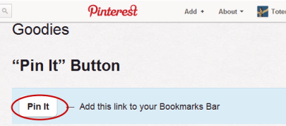 Botón Pin it en Pinterest