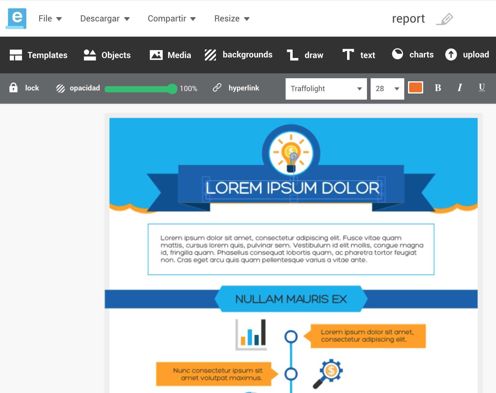 Cómo crear bellas infografías sin saber diseño gráfico | Recursos ...
