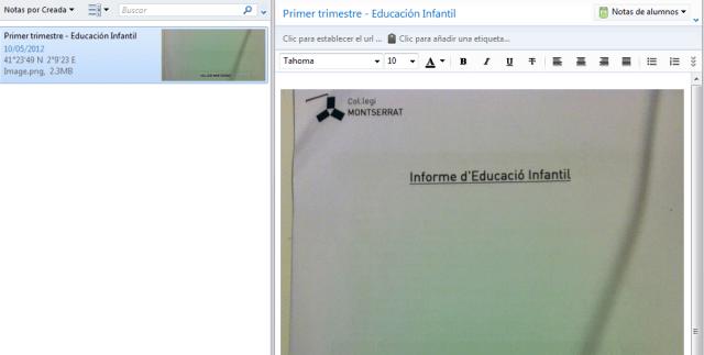 Digitalizar documentos con evernote