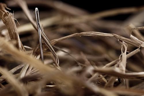evernote:una aguja en un pajar