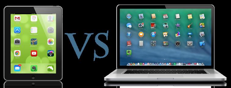 tableta versus portátil
