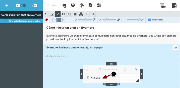 clarify creación tutoriales evernote