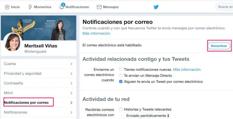 Desactivar-notificaciones-correo-twitter
