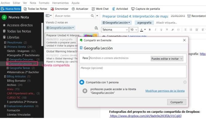 Evernote_compartir_libreta