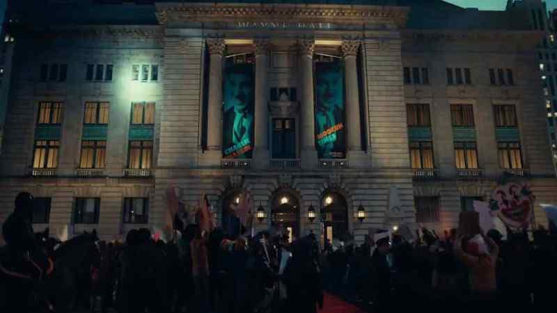 concentración de protesta en Joker