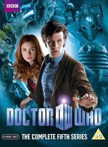 carátula de la quinta temporada moderna de Doctor Who