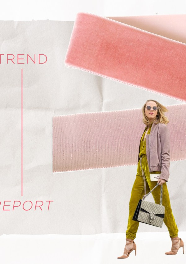Trend Report: Why We're Seeing Velvet This Fall