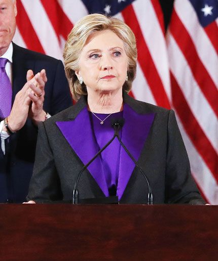 The Symbolism Behind HRC's Style & What It's Like To Shop With The Woman Of The Hour