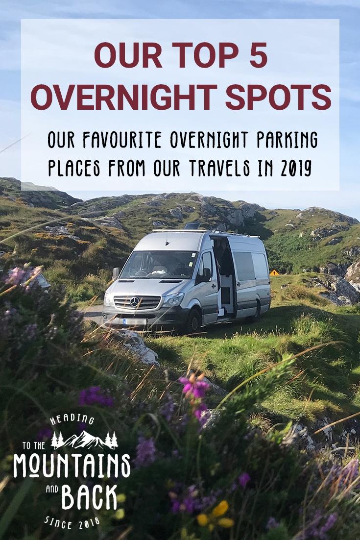 favourite overnight spots pin